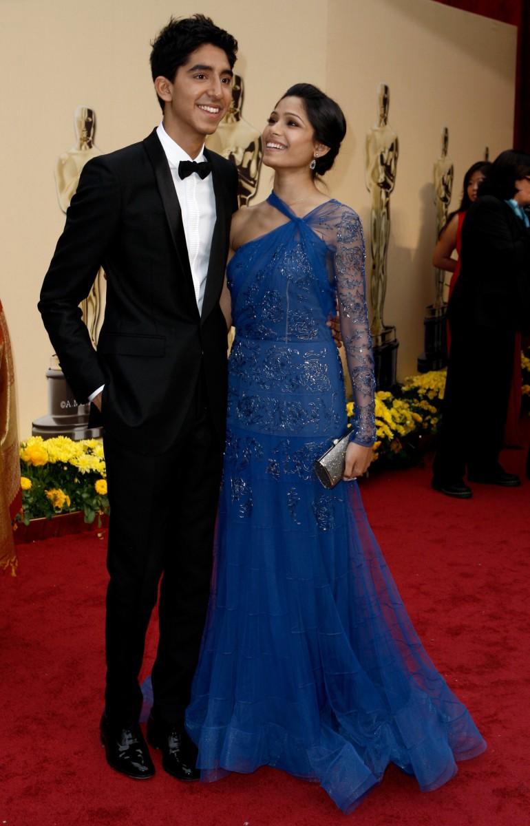 Dev Patel with beautiful, Girlfriend Freida Pinto