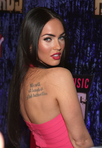 Megan Fox 17. Miss Fox wouldn#39;t say
