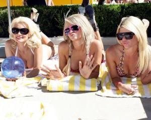 Holly Madison at Venus Pool Club (June 19)