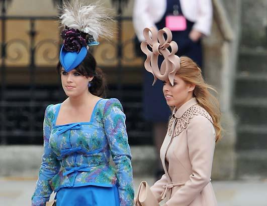 royal wedding outfits. hats at the Royal Wedding.