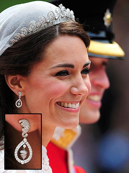 Kate Middleton's 'Something Borrowed': For her wedding with Prince William, ...