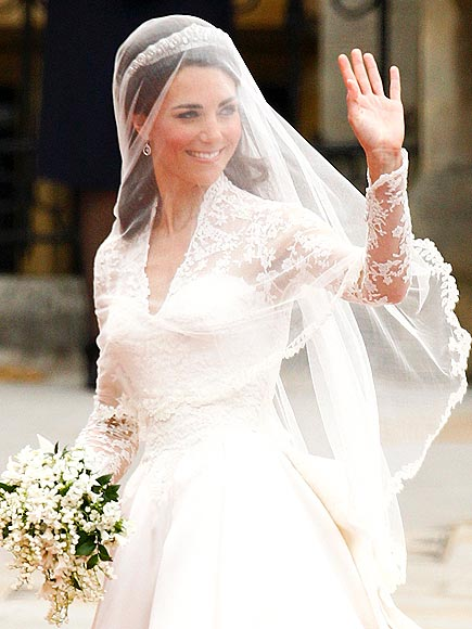 Kate Middleton's Wedding Dress Pictures