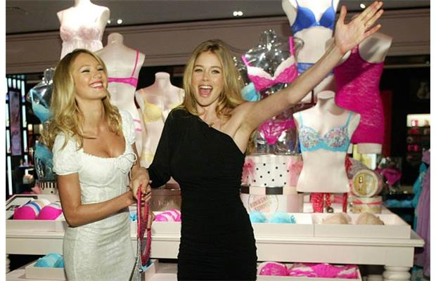 Doutzen Kroes and Candice Swanepoel