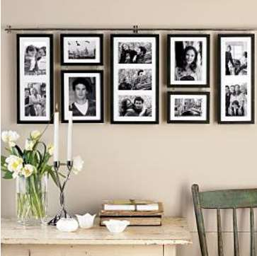 picture frame ideas casual cottage. Black Bedroom Furniture Sets. Home Design Ideas