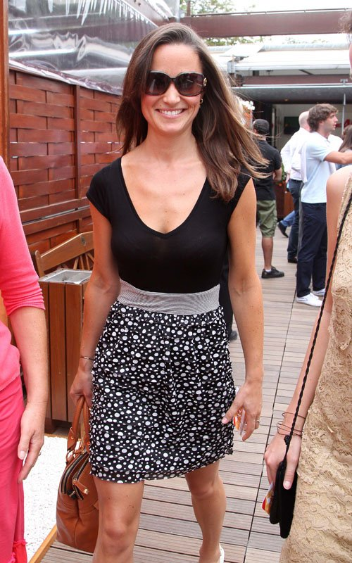 Pippa Middleton. Pippa Middleton at the French