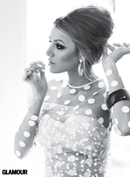 Blake Lively Glamour Magazine July 2011 Issue
