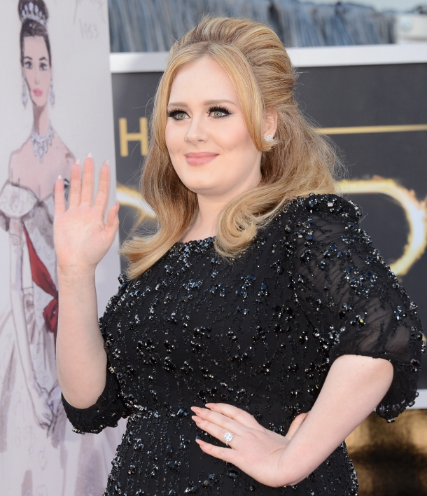 85th Annual Academy Awards Adele Nails-SallyHansen