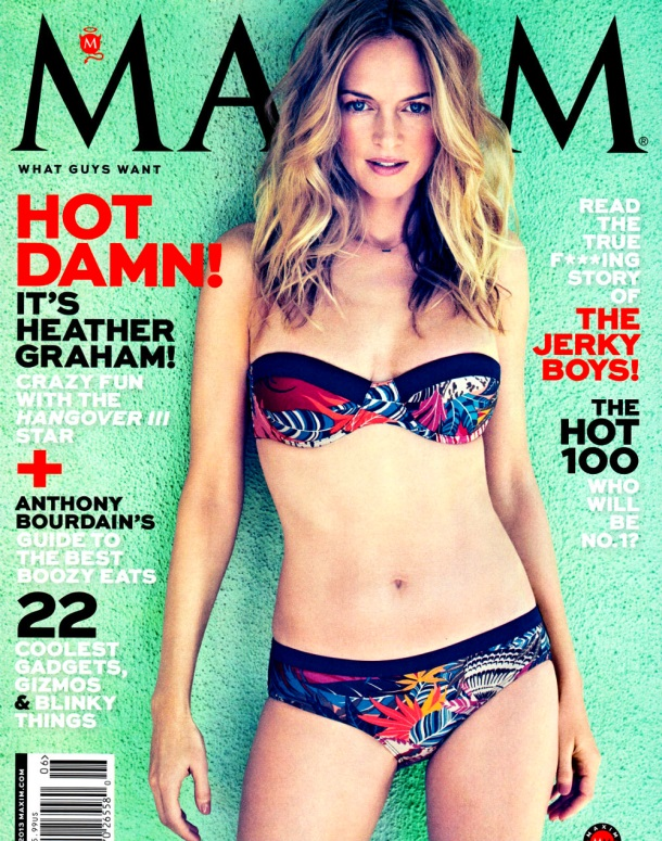 heather-graham-maxim James Macari