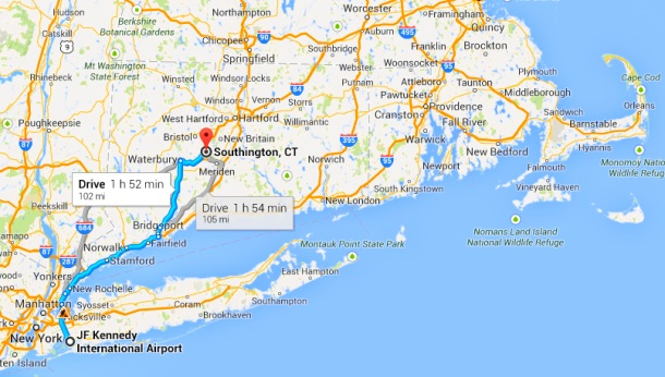 Connecticut to new york train price