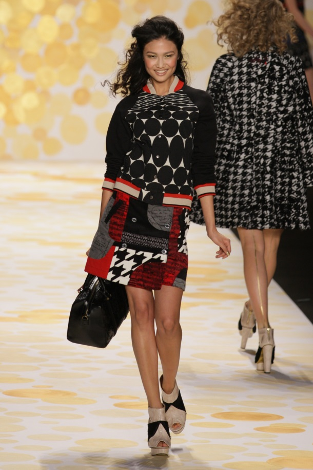New York Fashion Week Fall-Winter 2014 - Desigual Collection-1