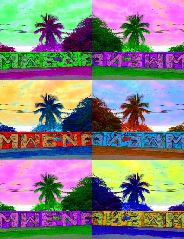 Pop Art Palm Trees-1