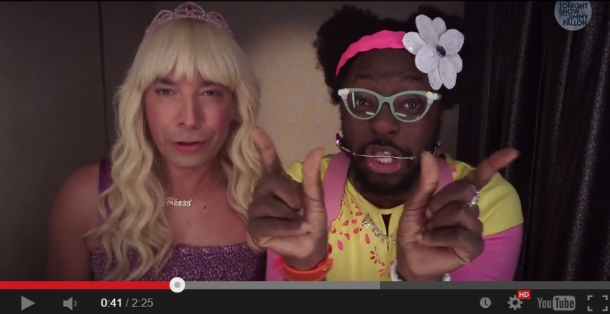"Jimmy Fallon and will.i.am Collaborate on ""Ew"""