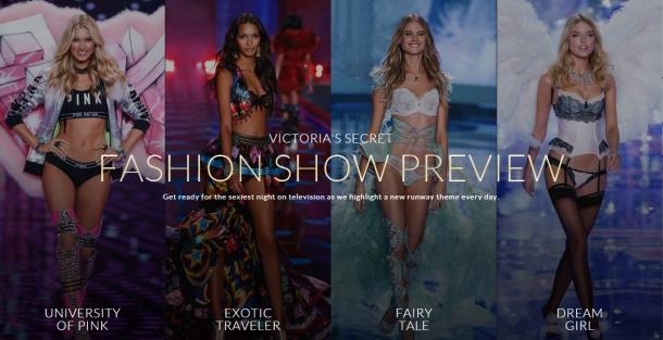 P.S. Victoria's Secret Fashion Show tonight!!!